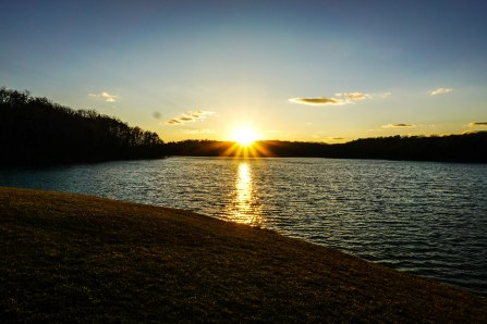 Sunset on the Lake at FCF