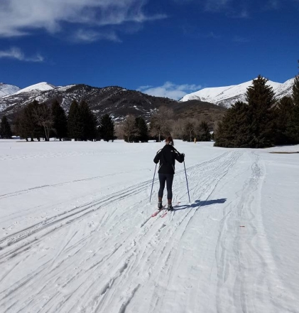 Cross country skiing Victoria